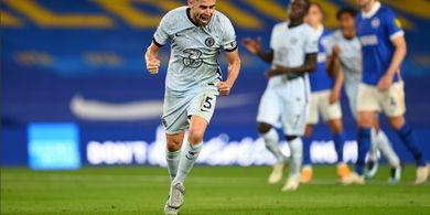 Bahagia di Chelsea, Jorginho Tak Bakal Pindah ke Arsenal atau PSG