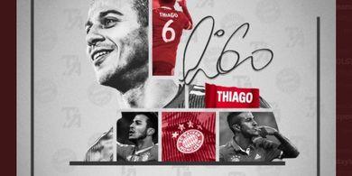 Thiago Alcantara Ucap Perpisahan untuk Bayern, Ungkap 1 Alasan Pilih Liverpool