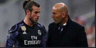 Sudah Lelah, Zidane Enggan Ladeni Perang Mulut dari Bale Lagi