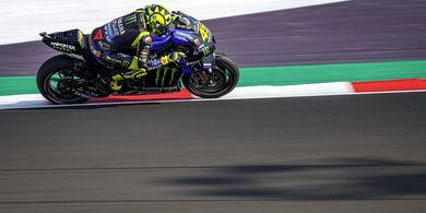 VIDEO - Kecelakaan Valentino Rossi yang Gagalkan Impian di Misano