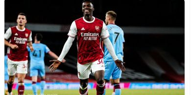 Hasil Liga Ingggris - Pekan Lalu Berkelahi, Kini 2 Pemain Arsenal Kerjasama Tentukan Kemenangan