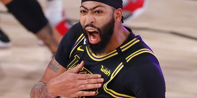 Hasil Playoffs NBA 2020 - Buzzer Beater Anthony Davis Bawa Lakers Unggul 2-0