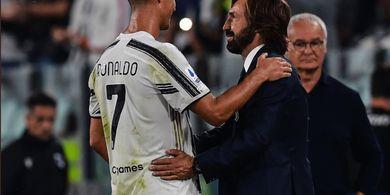 Benevento Vs Juventus - Istirahat karena Lelah, Andrea Pirlo Tak Akan Bawa Cristiano Ronaldo