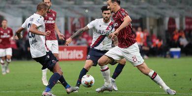 AC Milan Vs Bologna - Tuan Rumah Berharap Tuah Zlatan Ibrahimovic