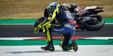 Rossi Komentari Muridnya yang Kehilangan Podium di Depan Mata