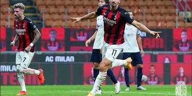 12 Hari Lagi Berumur 39 Tahun, Zlatan Ibrahimovic Puncaki Klasemen Raja Gol Liga Italia