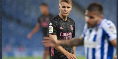Merasa Frustrasi, Martin Odegaard Ingin Tinggalkan Real Madrid
