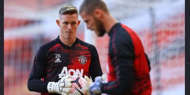 Dean Henderson Jadi Pesaing di Manchester United, Ini Reaksi De Gea
