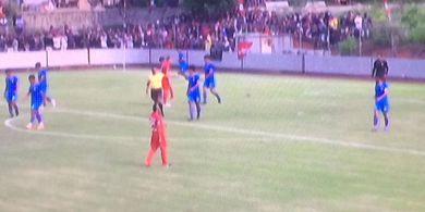 Banyak Penonton Hadir di Laga Uji Coba Persija Kontra Bhayangkara FC