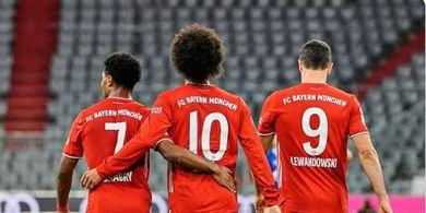 Susunan Pemain Bayern Muenchen Vs Sevilla - Trio Kunci 8-0 di Piala Super Eropa