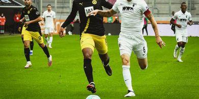 Hasil Bundesliga - Duet Sancho-Haaland Melempem, Dortmund Takluk dari Augsburg