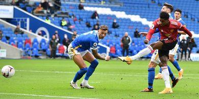 Brighton & Hove Albion Vs Man United - Momen Balas Dendam Tuan Rumah