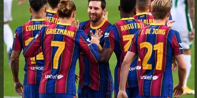 Starting XI Barcelona vs Villarreal - Ronald Koeman Coba Lionel Messi Tanpa Luis Suarez