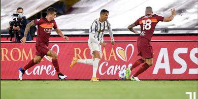 Hasil Liga Italia - Cristiano Ronaldo Sumbang 80 Persen Gol, Juventus Mulai Tergantung Lagi