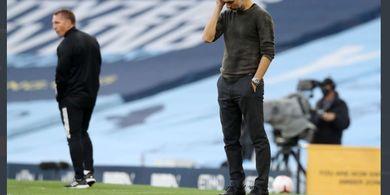 Man City Dibantai, Pep Guardiola Malah Kritik Leicester Tak Niat Main Bola