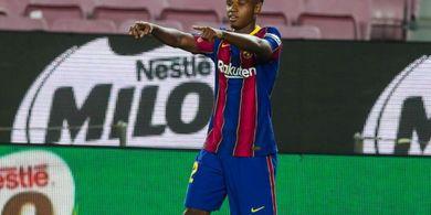 Hasil Liga Spanyol - Barcelona Lumat Villarreal 4-0, Tak Ada Luis Suarez Ansu Fati pun Jadi