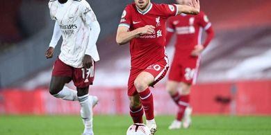 Hasil Liga Inggris - Gol Debut Rekan Cristiano Ronaldo, Liverpool Libas Arsenal 3-1
