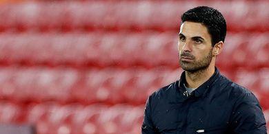 Performa Arsenal di Liga Inggris Buruk, Mikel Arteta Prihatin