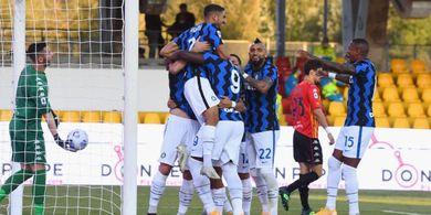 Babak I Benevento Vs Inter Milan - Buangan Real Madrid Tampil Apik, Nerazzurri Unggul 4-1
