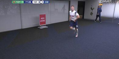VIDEO - Marah, Jose Mourinho Buntuti Eric Dier ke Toilet Saat Spurs Masih Tertinggal dari Chelsea