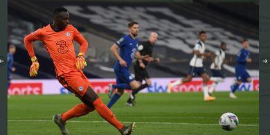 Chelsea Kalah dari Tottenham Hotspur, Frank Lampard Puji Debut Edouard Mendy