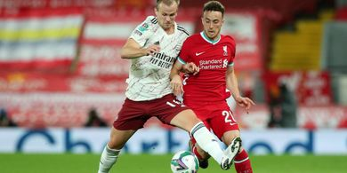 Hasil Piala Liga Inggris - Bocah 23 Tahun Liverpool Gagal Penalti, Arsenal Lolos ke Perempat Final
