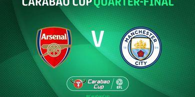 Perempat Final Piala Liga Inggris - Arsenal Vs Man City, 1 Tim Championship Bisa Munculkan Kejutan