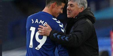James Rodriguez Cedera, Pelatih Everton Siapkan Pemain Lain untuk Hadapi Southampton