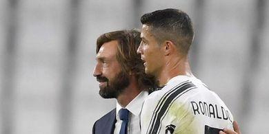 Andrea Pirlo: Saya Perlakukan Cristiano Ronaldo Sama seperti Pemain Juventus U-23