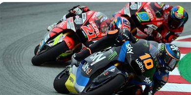 Hasil Moto2 Teruel 2020 - Adik Valentino Rossi Merana, Pembalap Indonesia Perbaiki Posisi