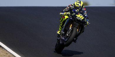 Valentino Rossi Bak Ditusuk Gara-gara Yamaha Melesat di Aragon
