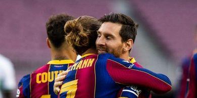 Susunan Pemain Barcelona Vs Ferencvaros - Lionel Messi Ujung Tombak