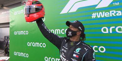 Sudah Setara dengan Michael Schumacher, Lewis Hamilton Akui Belum Capai Batasnya