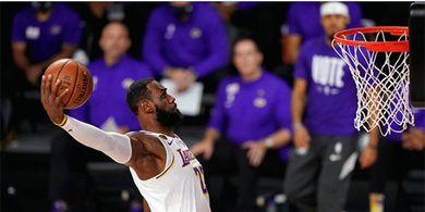 Memang Istimewa, LeBron James Lagi-lagi Ukir Rekor pada Kompetisi NBA