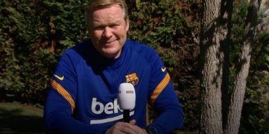 Mau Fokus ke Sepak Bola, Koeman Ogah Urusi Drama Internal Barcelona