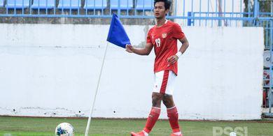 Timnas U-23 Indonesia Vs Australia - Muhammad Kanu Beberkan Fokus Shin Tae-yong pada H-1 Laga