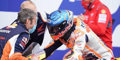 Bangganya Alex Marquez Meski Alami Crash pada MotoGP Teruel 2020