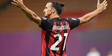 Tak Cukup Satu Tahun, Zlatan Ibrahimovic Ingin Lebih Lama di AC Milan