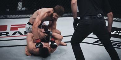 UFC Fight Island 6 - Tragis, Petarung Filipina Debutan KO dalam 51 Detik Saja!