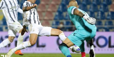 Hasil Babak I - Tanpa Gol dengan 7 Tembakan, Juventus Kangen Ronaldo