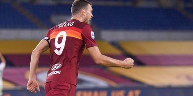 AS Roma Menang, Edin Dzeko Hobi Banget Bobol Gawang Manchester United
