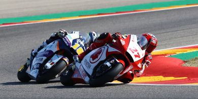 Moto2 Teruel 2020 - Ditantang Manajer Tim Raih Poin, Ini Jawaban Andi Gilang