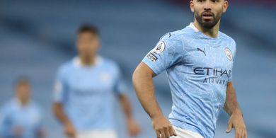 BREAKING NEWS - Sergio Aguero Menepi Lagi dari Skuad Man City, Kini Positif COVID-19