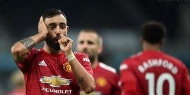 Cetak Brace Kontra Istanbul Basaksehir, Bruno Fernandes Ukir Catatan Apik Bersama Man United