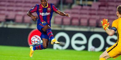 Klasemen Liga Champions - Barcelona dan Manchester United Memimpin