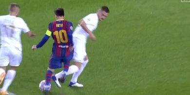 Barcelona Vs Ferencvaros - Lionel Messi Tak Terbendung, Barca Selebrasi
