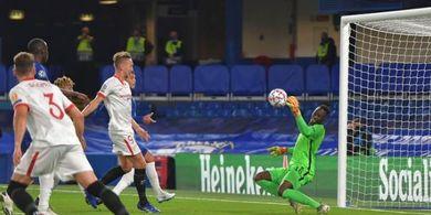 Hasil Liga Champions - Edouard Mendy Kiper Bintang, Chelsea Lolos dari Lubang