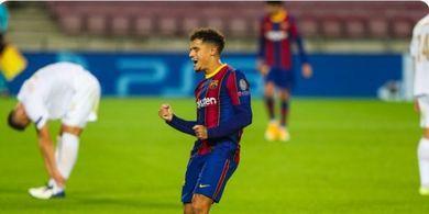 Kabar Buruk untuk Barcelona! Coutinho Cedera dan Terancam Absen Lawan Juventus di Liga Champions