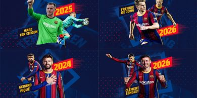 Barcelona Teken Kontrak Baru 4 Pemain Langsung, Klausul Pelepasannya Senilai 7 Cristiano Ronaldo