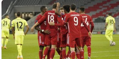 Hasil Liga Champions - Kingsley Coman 2 Gol-1 Assist, Luis Suarez Dibantai Bayern Lagi